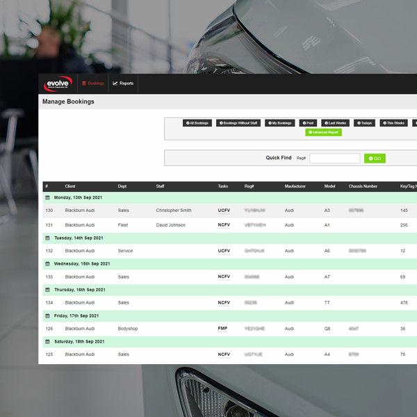 valeter manager system